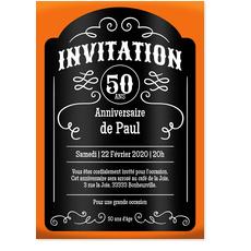 Texte invitation pour anniversaire 50 ans