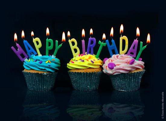Carte anniversaire à partager sur facebook
