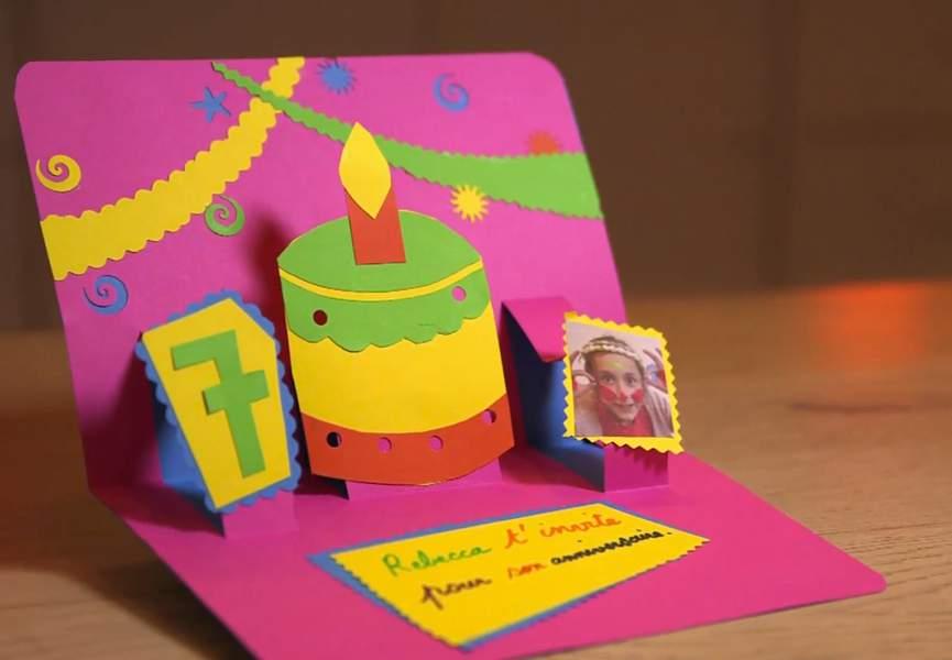 Carte invitation anniversaire adulte à faire soi même