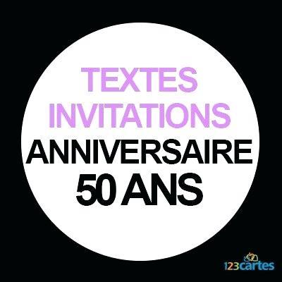 Texte invitation anniversaire 50 ans homme humoristique