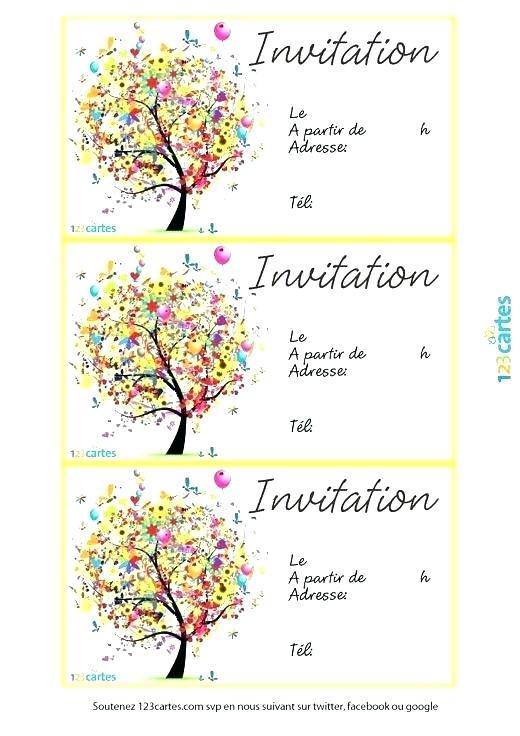 Logiciel carte invitation anniversaire gratuite