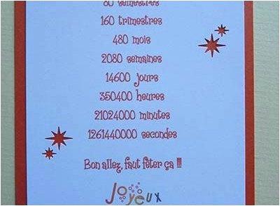 Carte anniversaire 50 ans texte