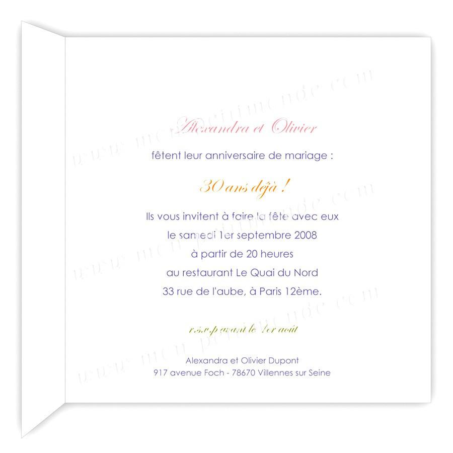 Texte humoristique anniversaire de mariage 60 ans
