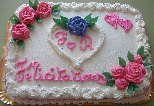 Gateau anniversaire 40 ans de mariage