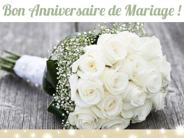 Bouquet pour anniversaire de mariage