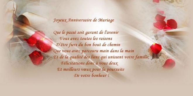 Lettre pour anniversaire de mariage 50 ans