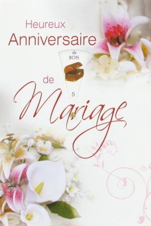 Cartes de voeux anniversaire de mariage