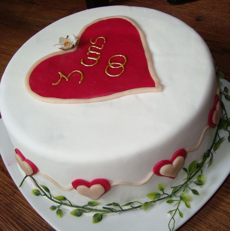 Gâteaux anniversaire de mariage