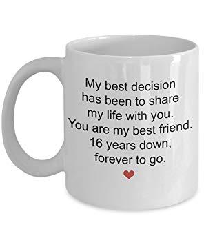 Cadeau anniversaire de mariage 16 ans