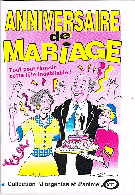 Jeux pour anniversaire de mariage