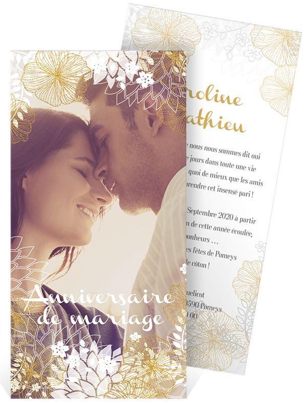 Poeme anniversaire de mariage noce de coton