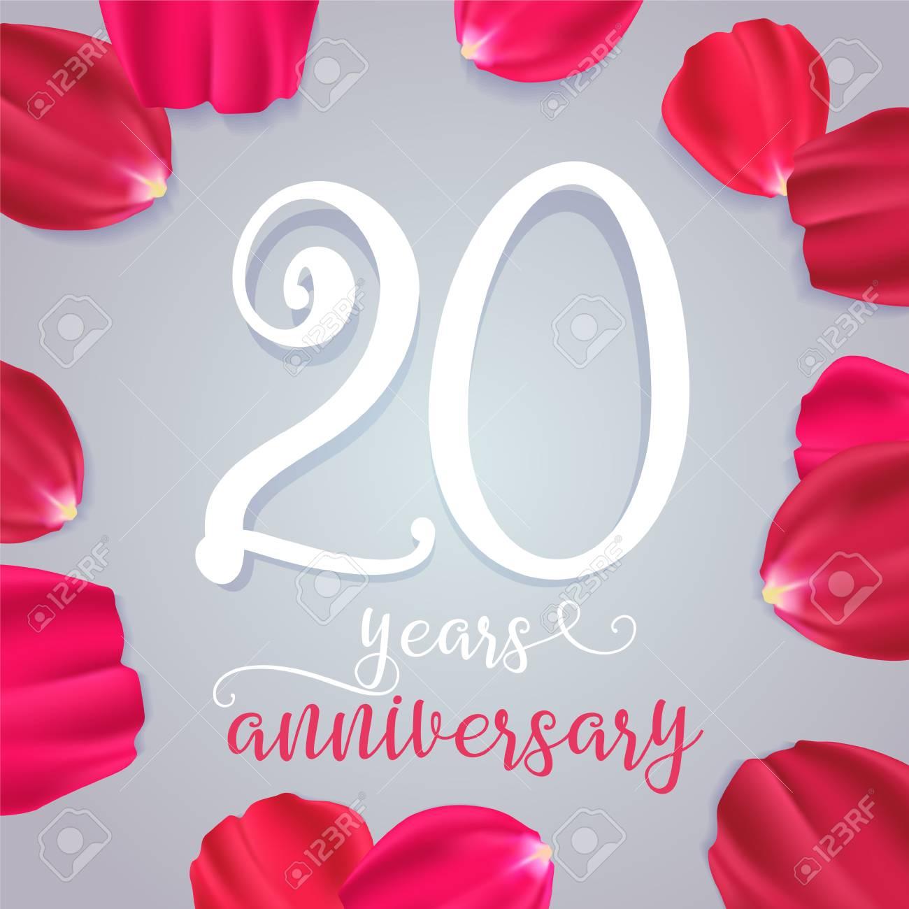 20e anniversaire de mariage