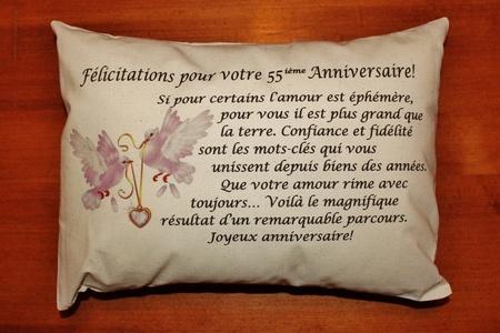55 anniversaire de mariage