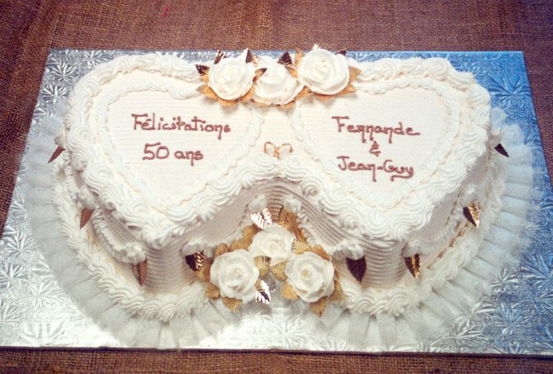 Gateau anniversaire de mariage 10 ans