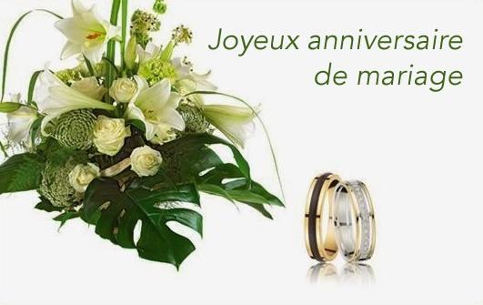 Cinquantième anniversaire de mariage
