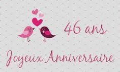 Bon anniversaire de mariage 46 ans