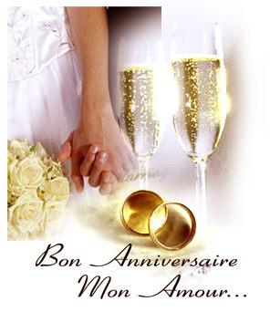 Noce anniversaire de mariage 19 ans