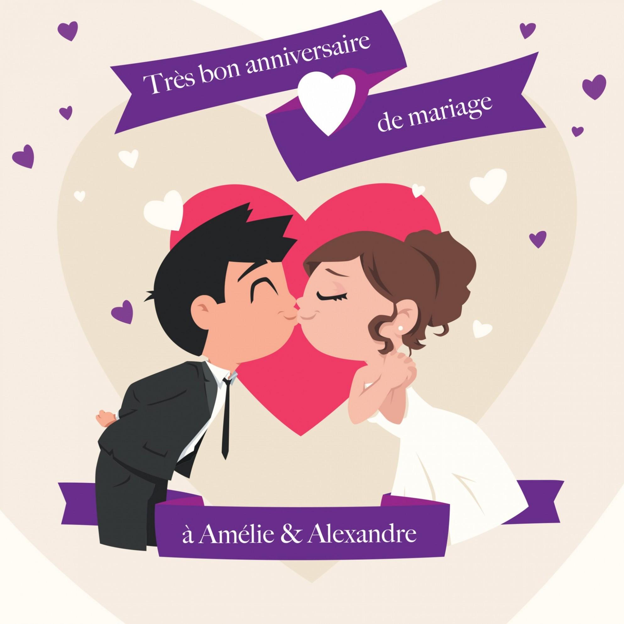 4 anniversaire de mariage