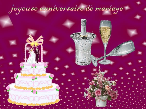 Image anniversaire de mariage 1 an