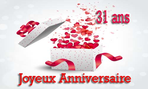 Image anniversaire de mariage 31 ans