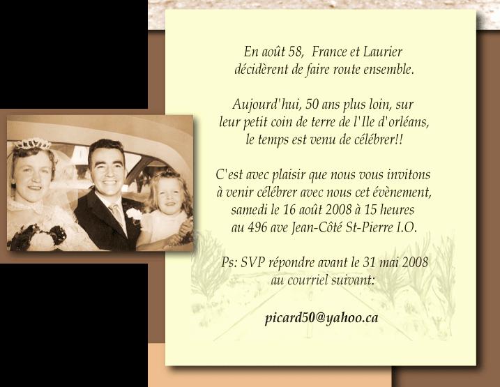 Modèle lettre anniversaire de mariage