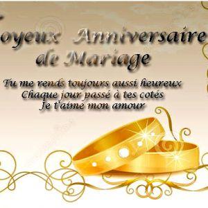 Images anniversaire de mariage 50 ans