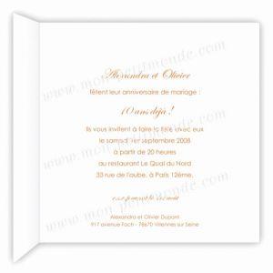 Texte carte anniversaire de mariage