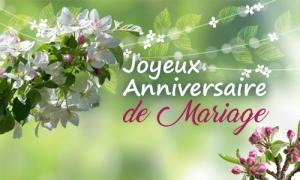 Joyeux anniversaire de mariage 16 ans