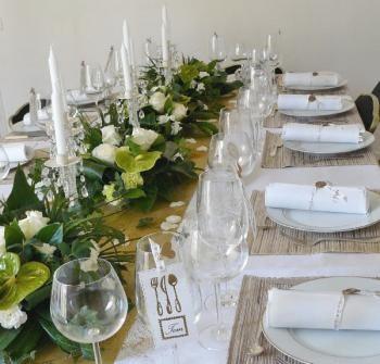 Deco de table pour anniversaire de mariage 50 ans