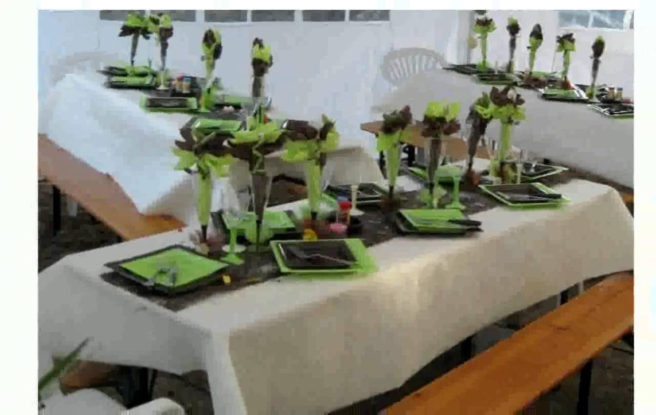 Idée de décoration de table pour anniversaire de mariage