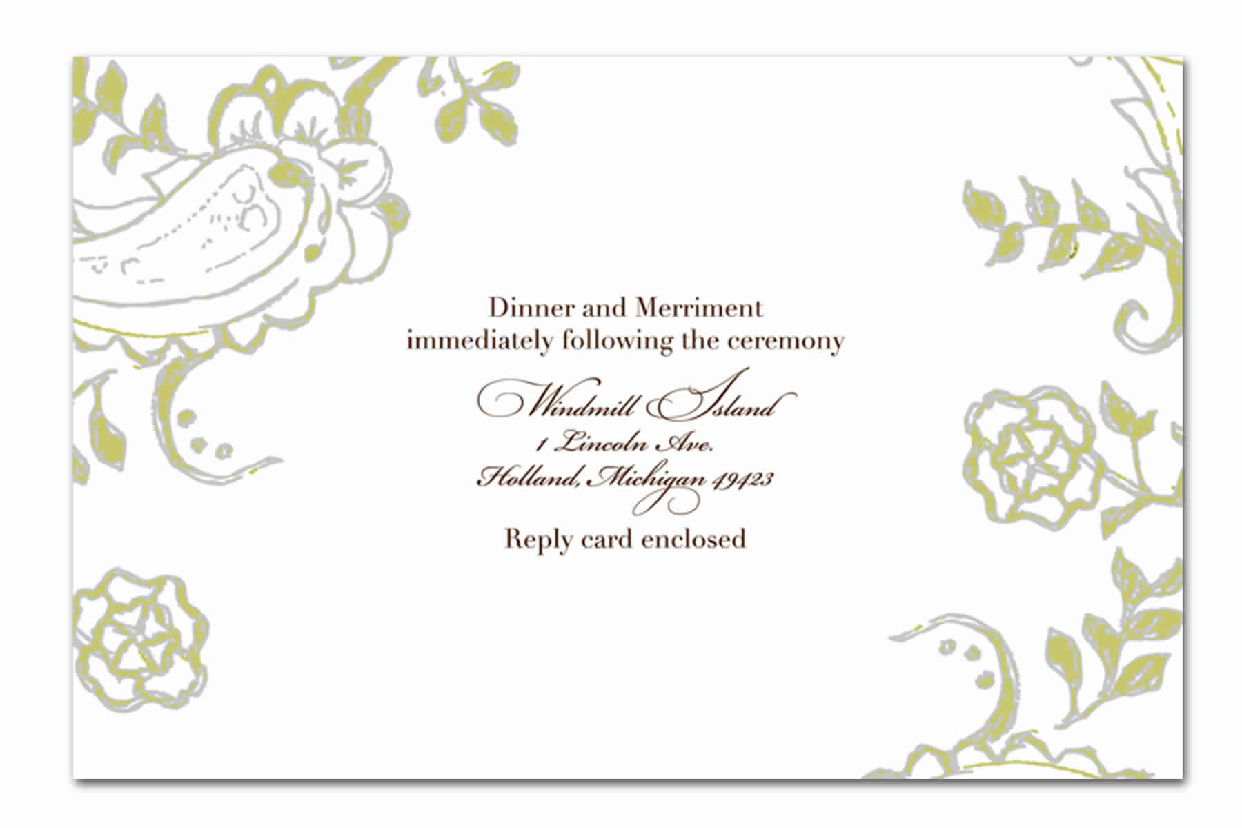 Cartons d'invitation anniversaire de mariage