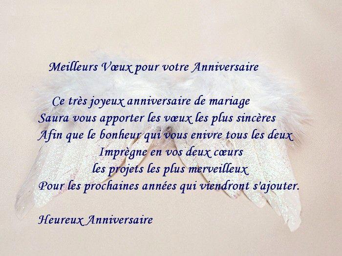 Modele lettre de felicitation anniversaire de mariage