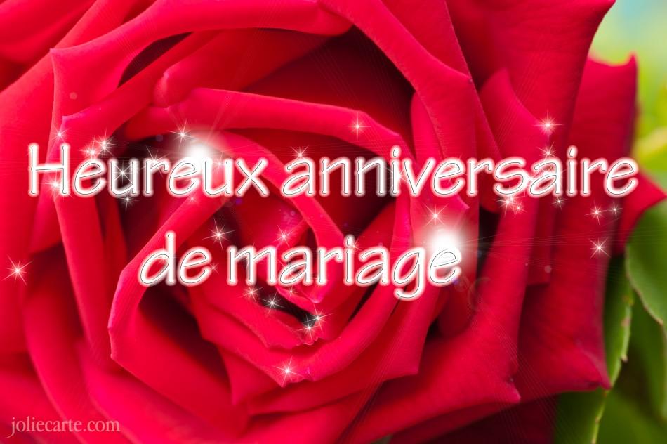 Carte anniversaire de mariage 32 ans