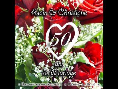 Chanson pour anniversaire de mariage 45 ans