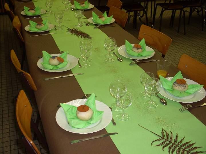 Decoration de table pour anniversaire de mariage 60 ans
