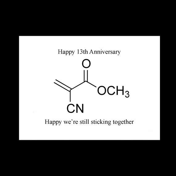 13ème anniversaire de mariage