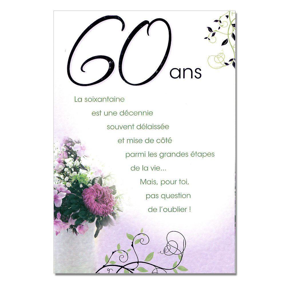 Message pour anniversaire de mariage 60 ans