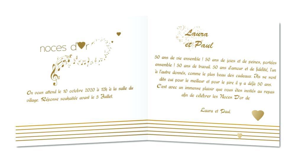 Invitation anniversaire de mariage 10 ans gratuit