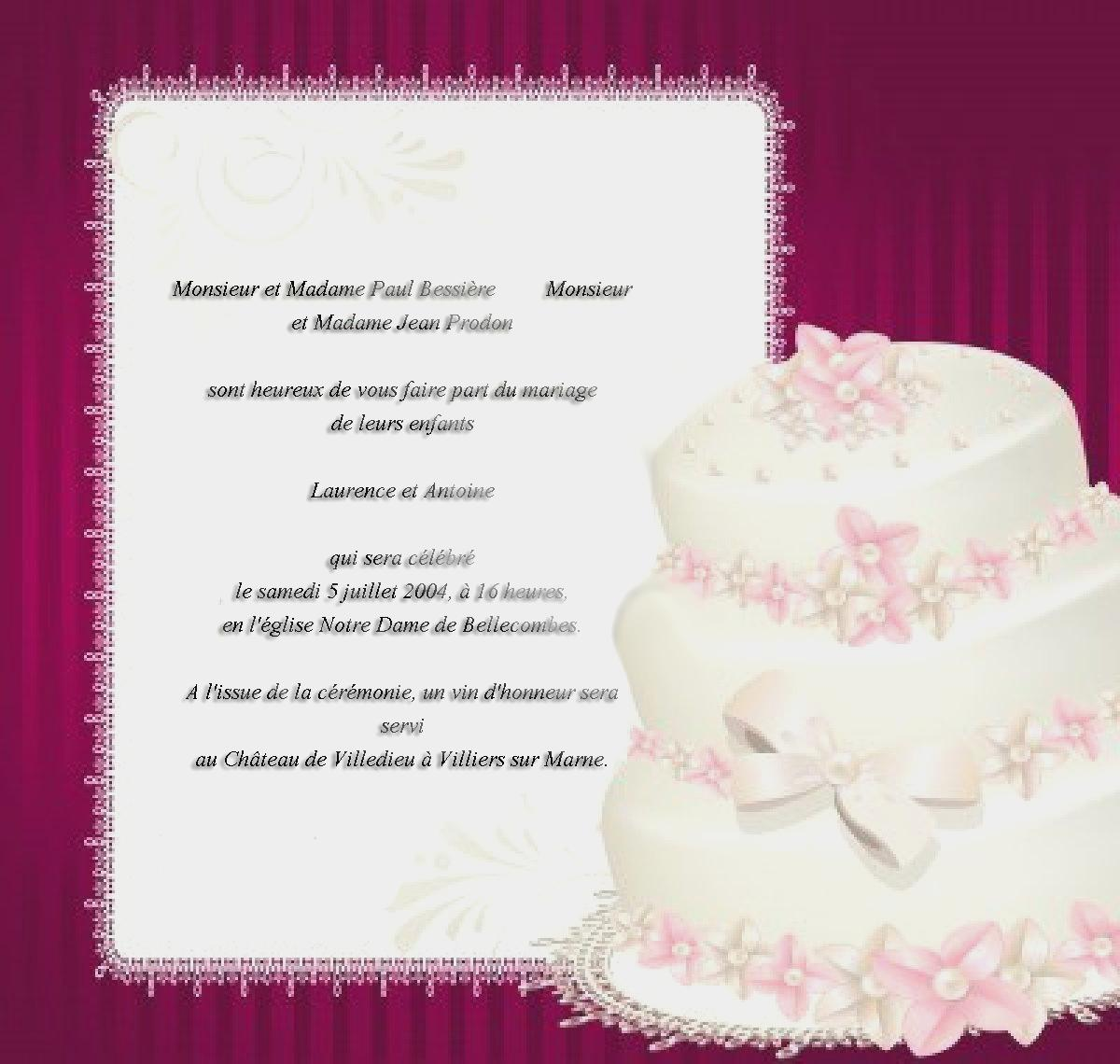 Prière anniversaire de mariage