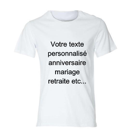 T shirt anniversaire de mariage