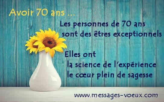 Poème anniversaire de mariage 70 ans