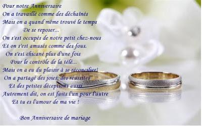 Anniversaire de mariage 10 ans texte