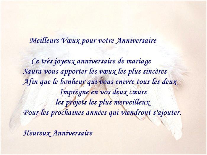 Message anniversaire de mariage 2 ans