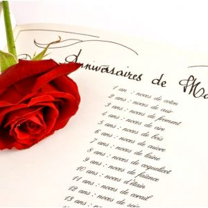 Invitation anniversaire de mariage 20 ans gratuit