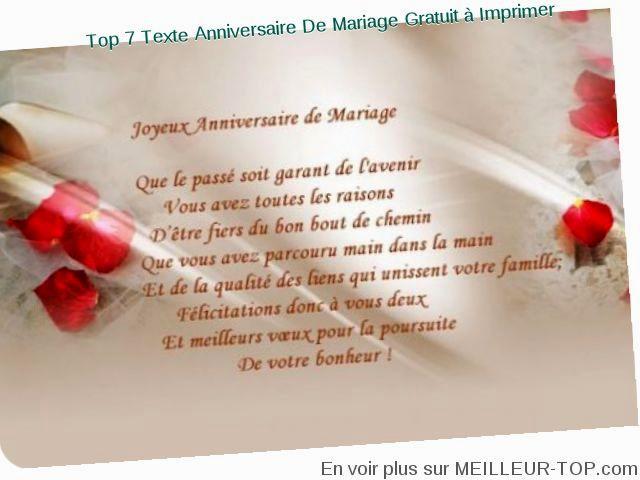 Texte anniversaire de mariage 24 ans