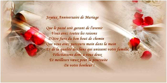 Texte 50e anniversaire de mariage