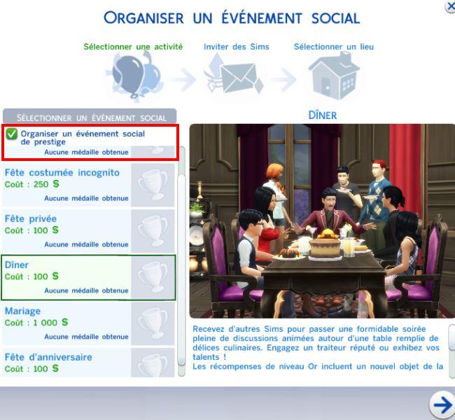 Sims 2 anniversaire de mariage
