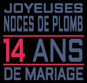 Anniversaire de mariage 14ans
