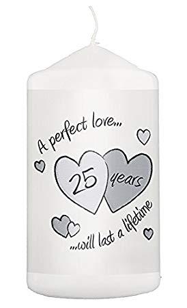 Idée pour un 25e anniversaire de mariage