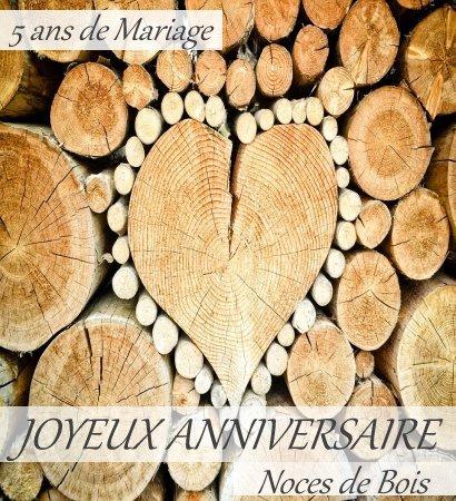 Anniversaire de mariage de 5 ans